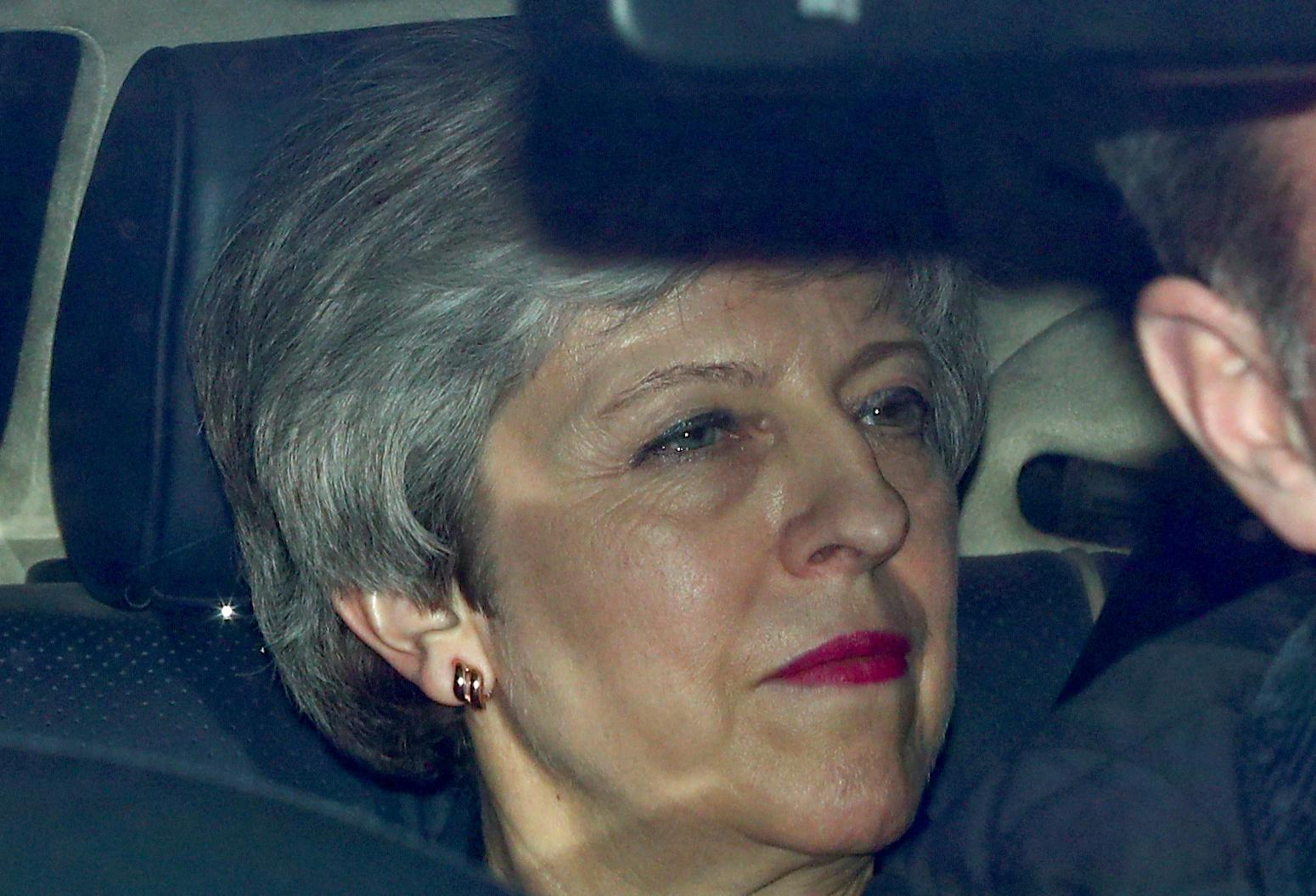 May risks 'total collapse' of government in Brexit impasse - Sunday...