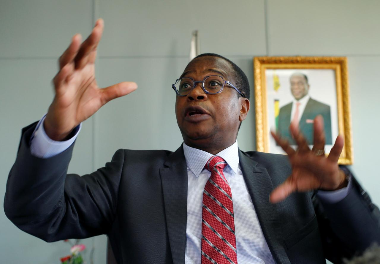 Zimbabwe finance minister criticizes 'profiteering' price hikes as new currency falls