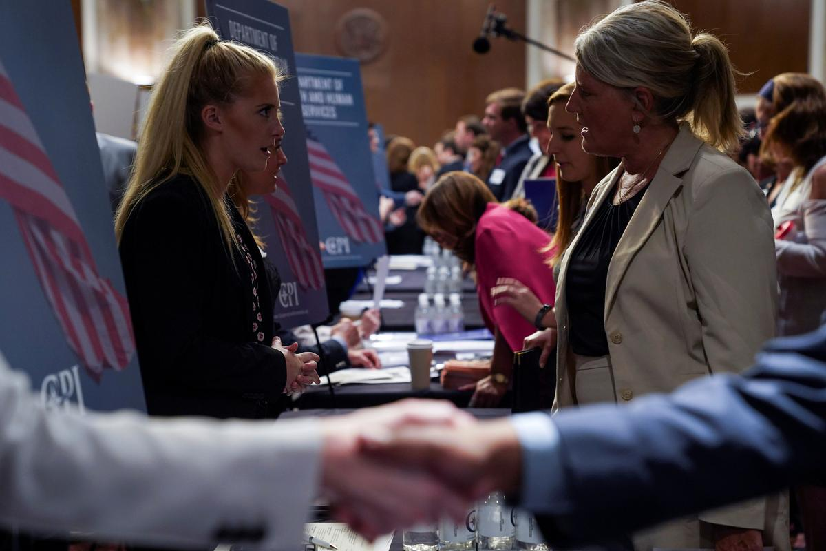U.S. jobless claims hit 49-year low; labor market resilient