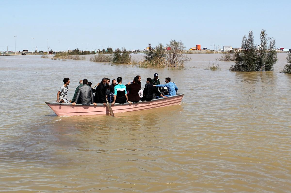 Iran expands evacuations as rains worsen floods