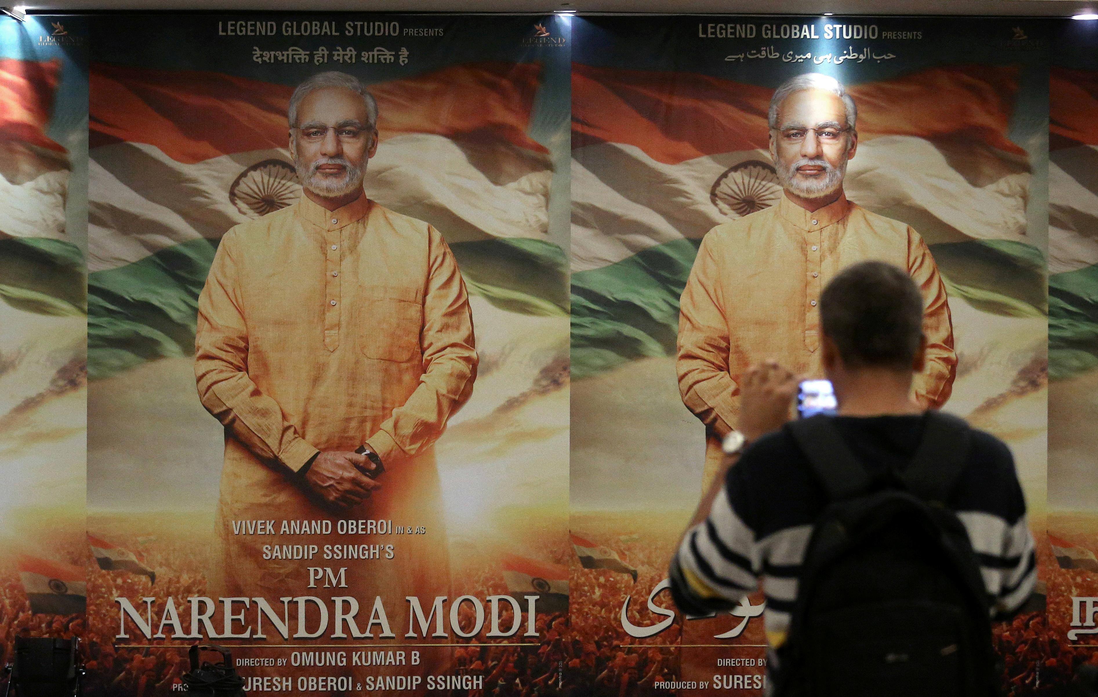 India's Bollywood plays starring role in Modi's re-election bid