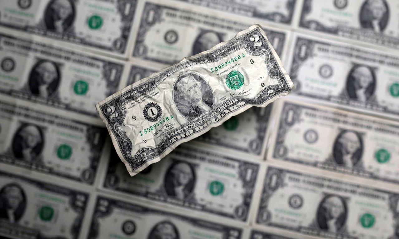 Dollar index stays lower after U S  March CPI data - Reuters