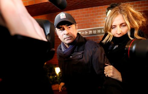 Wife of ousted Nissan boss Ghosn returns to Japan to testify