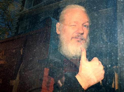Assange's seven years in the Ecuadorean embassy