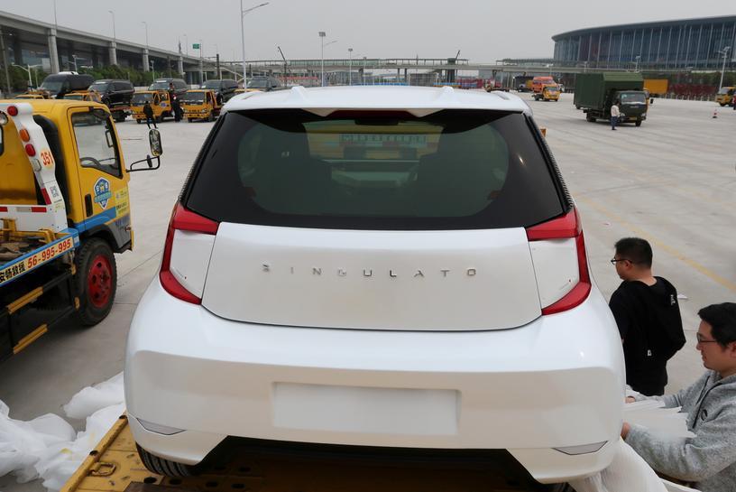 reuters.com - Norihiko Shirouzu - Exclusive: Toyota sells electric vehicle technology to Chinese startup Singulato