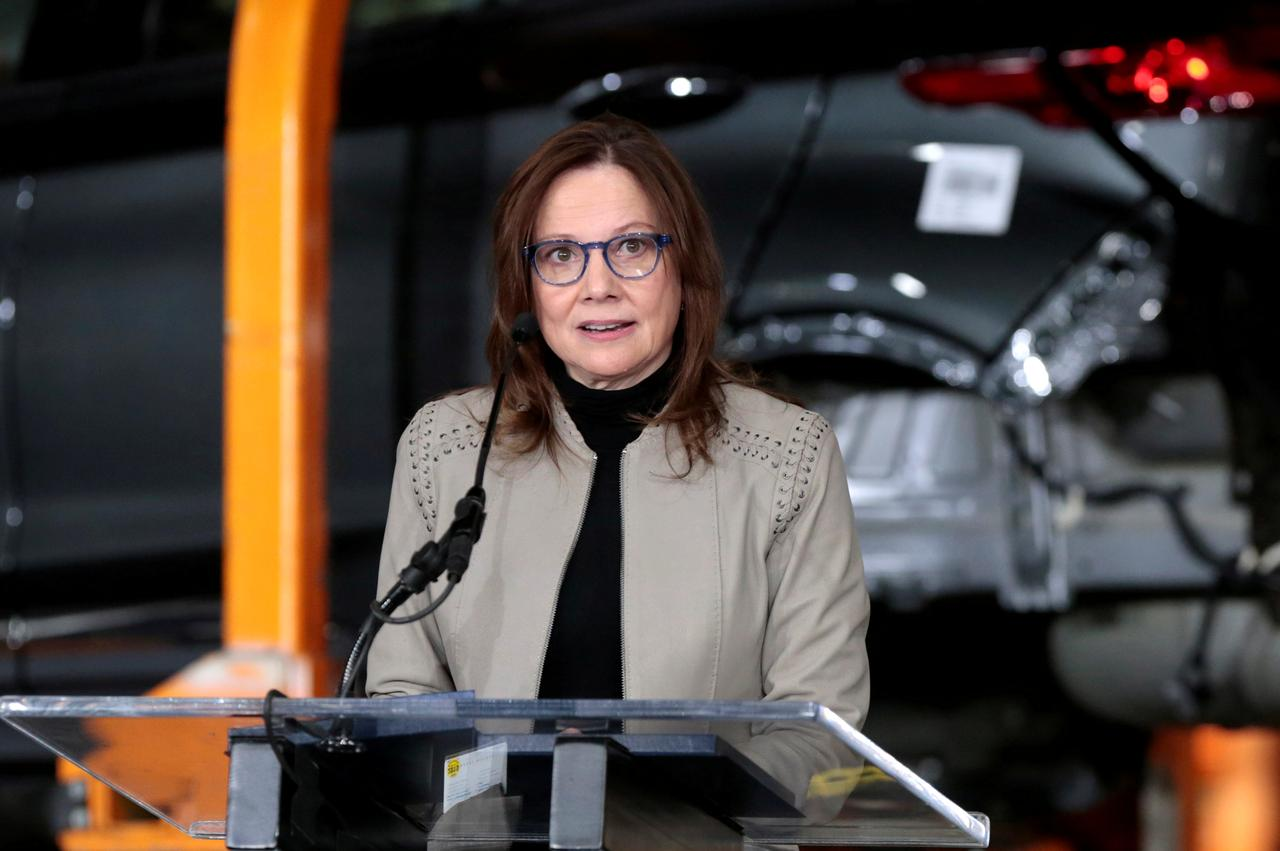 Gm Ceo Barra S Pay Dipped Slightly To Just Under 22 Million In 2018 Reuters