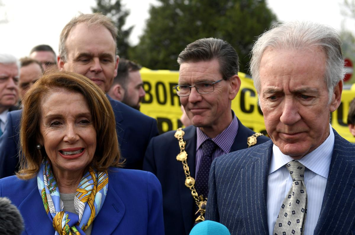 Irish Brexit border issue could endanger EU-U.S. trade deal: congressman