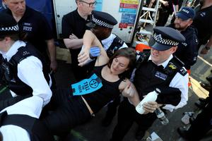 Arrests at London climate-change protests top 1,000