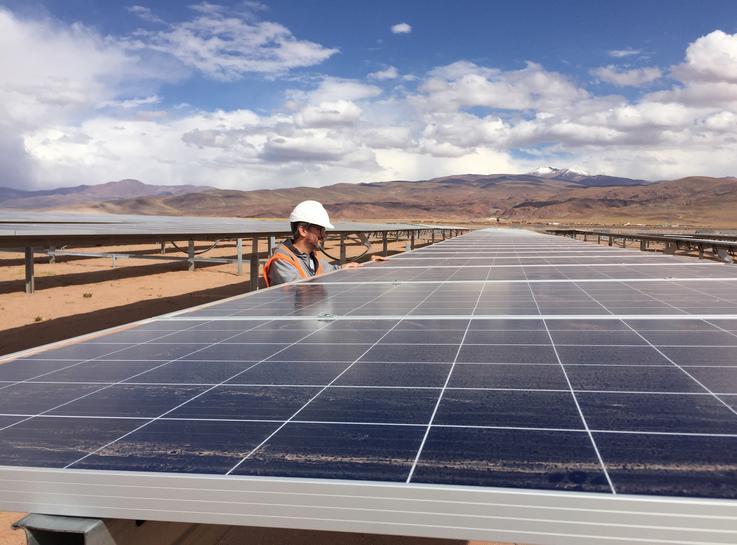 reuters.com - Cassandra Garrison - On South America's largest solar farm, Chinese power radiates