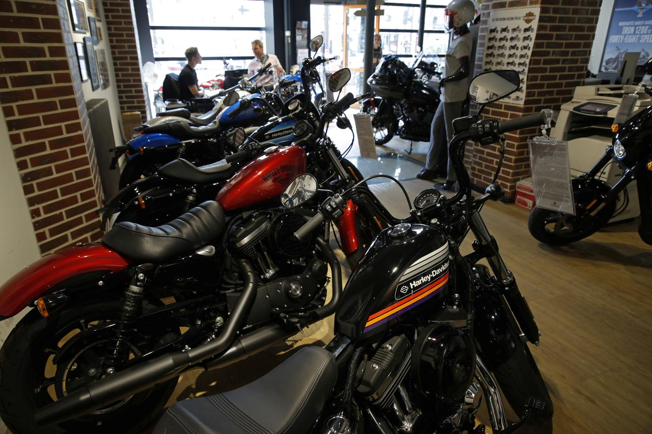 Harley-Davidson points to tariff impact as Trump weighs in - Reuters