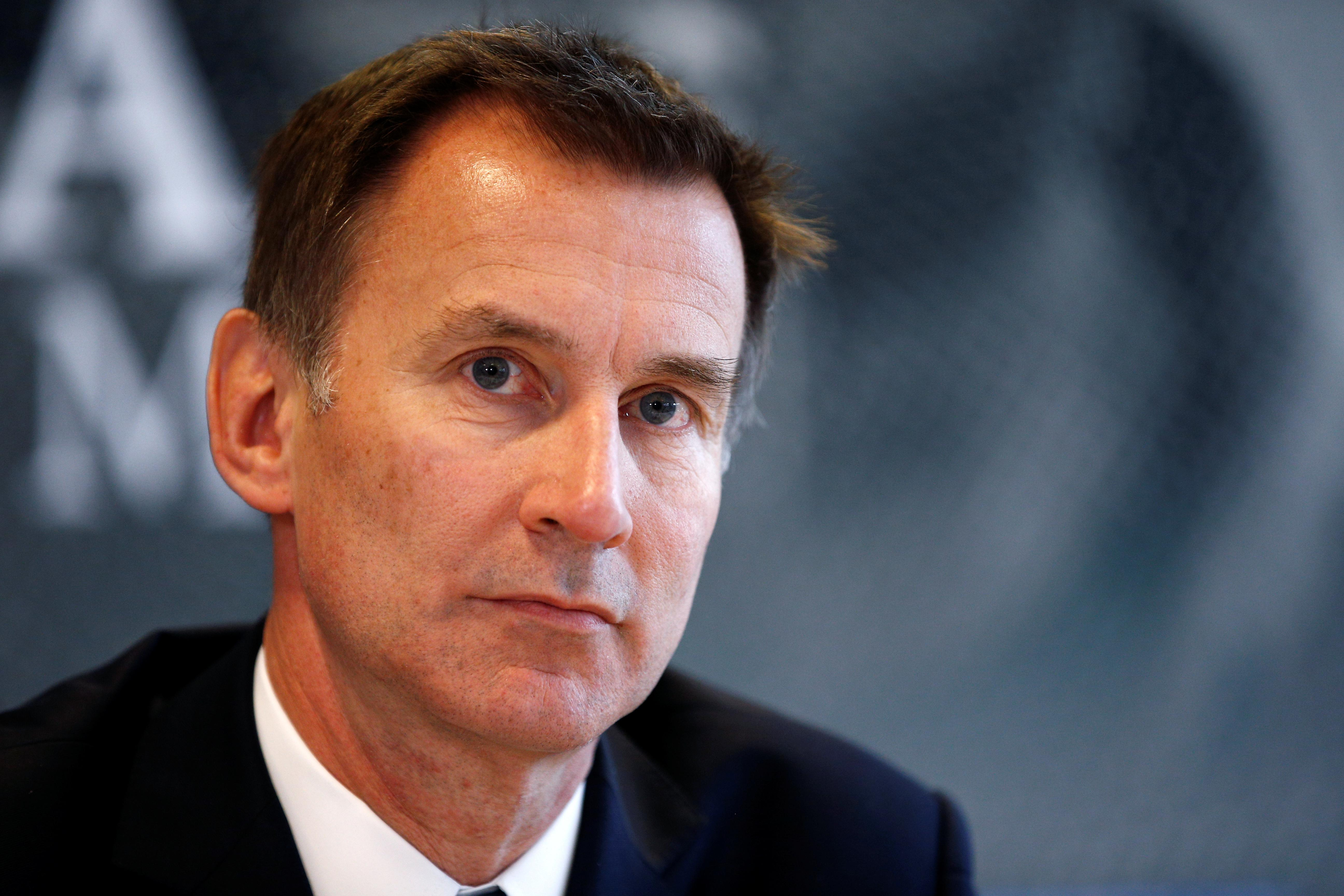 governme jeremy hunt accused - HD2560×1707