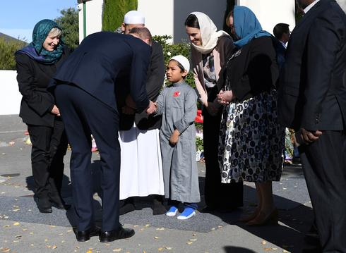 Prince William meets survivors of Christchurch mosque shootings