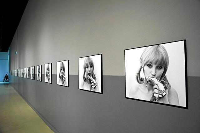 FILE PHOTO: Polish artist Natalia LL's work 'Consumer Art' is pictured at the Centre for Contemporary Art in Warsaw, Poland February 22, 2015.Agencja Gazeta/Waldemar Gorlewski via REUTERS