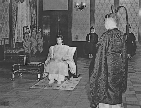 Emperor Akihito through the years