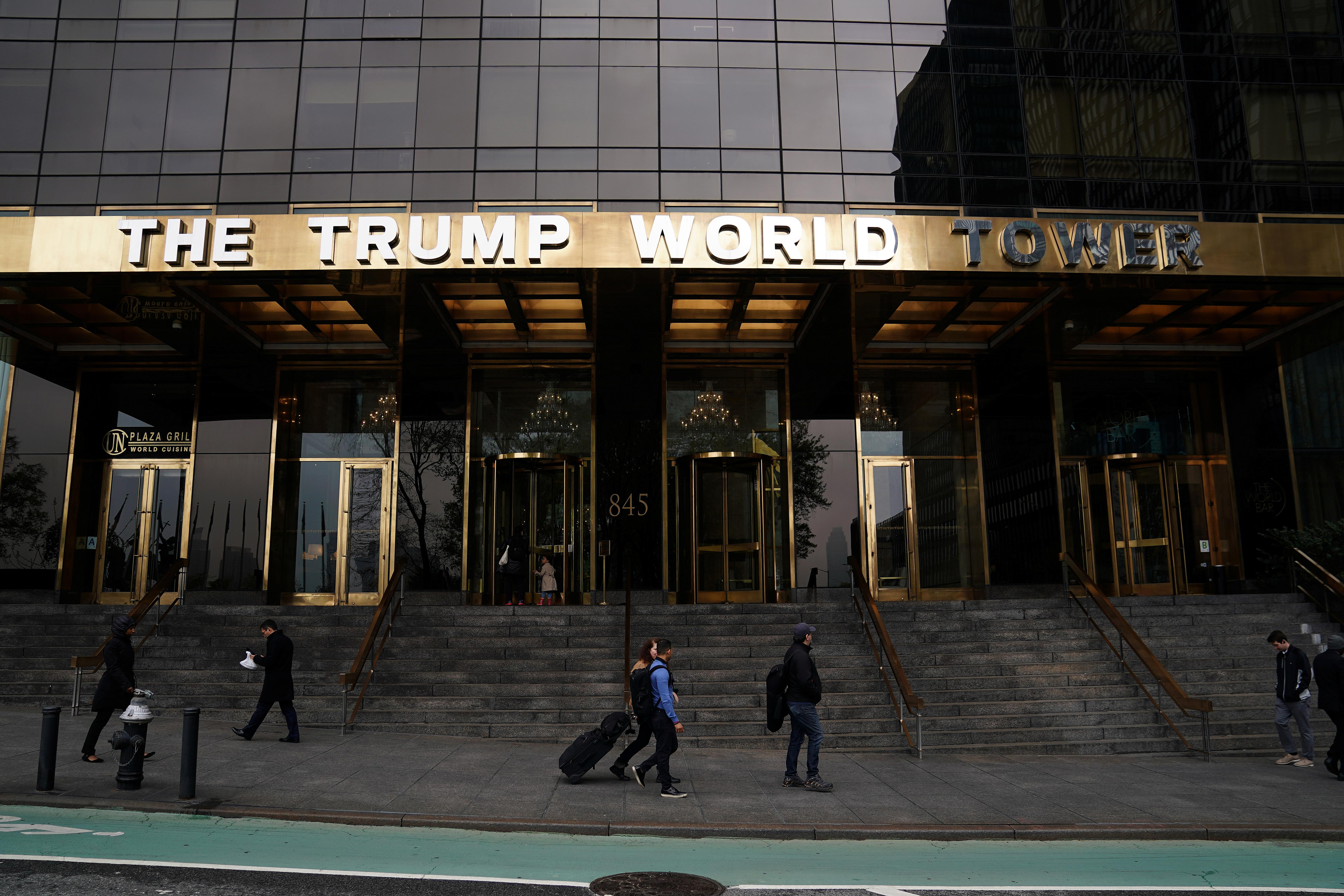 Exclusive: Foreign government leases at Trump World Tower stir more...