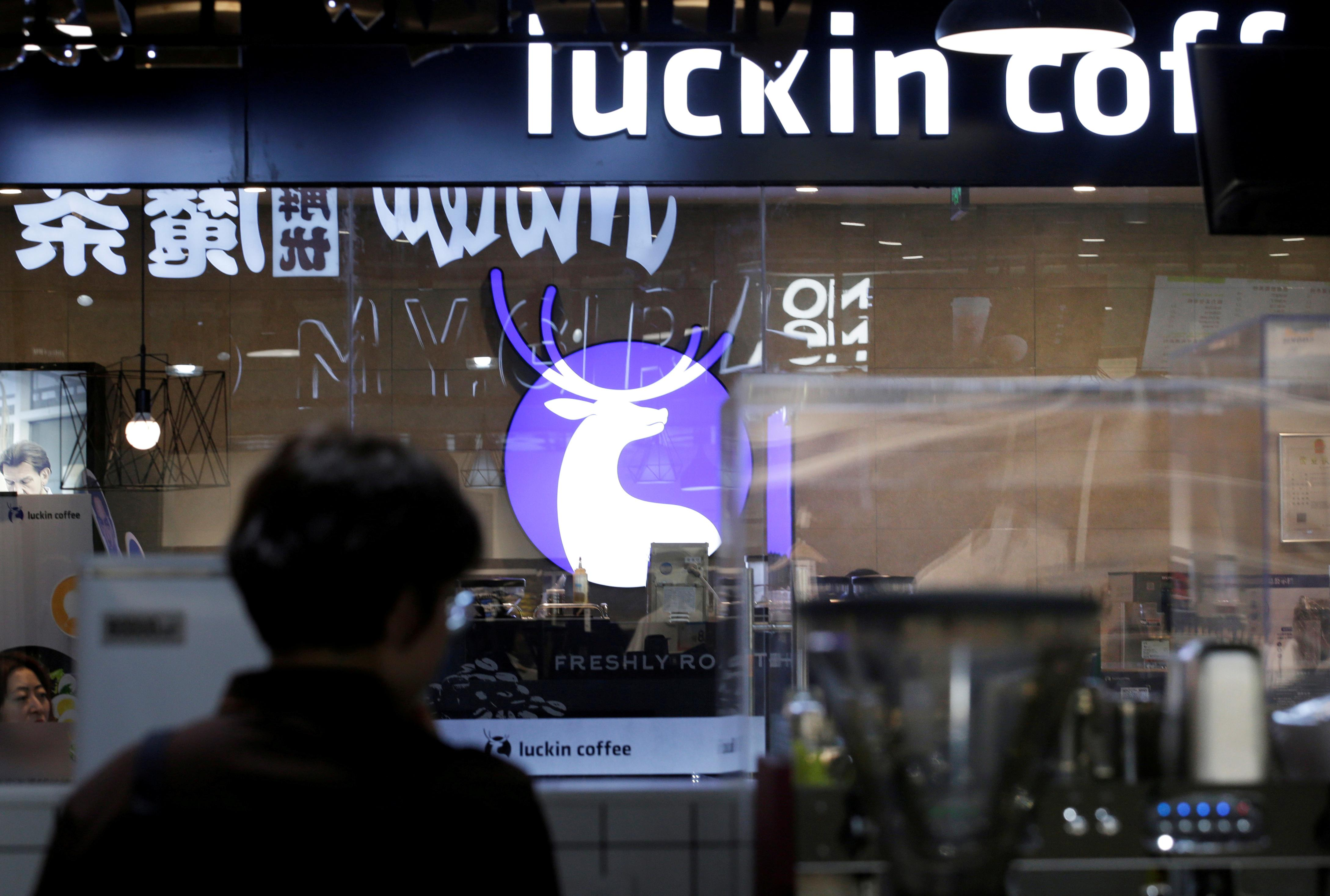 Starbucks' China rival Luckin seeks to raise up to $586.5 million in IPO