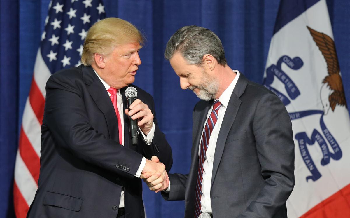 Exclusive: Trump fixer Cohen says he helped Falwell handle racy photos