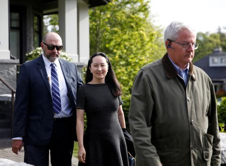 Huawei CFO Meng arrives in Canada court for pre-extradition hearing