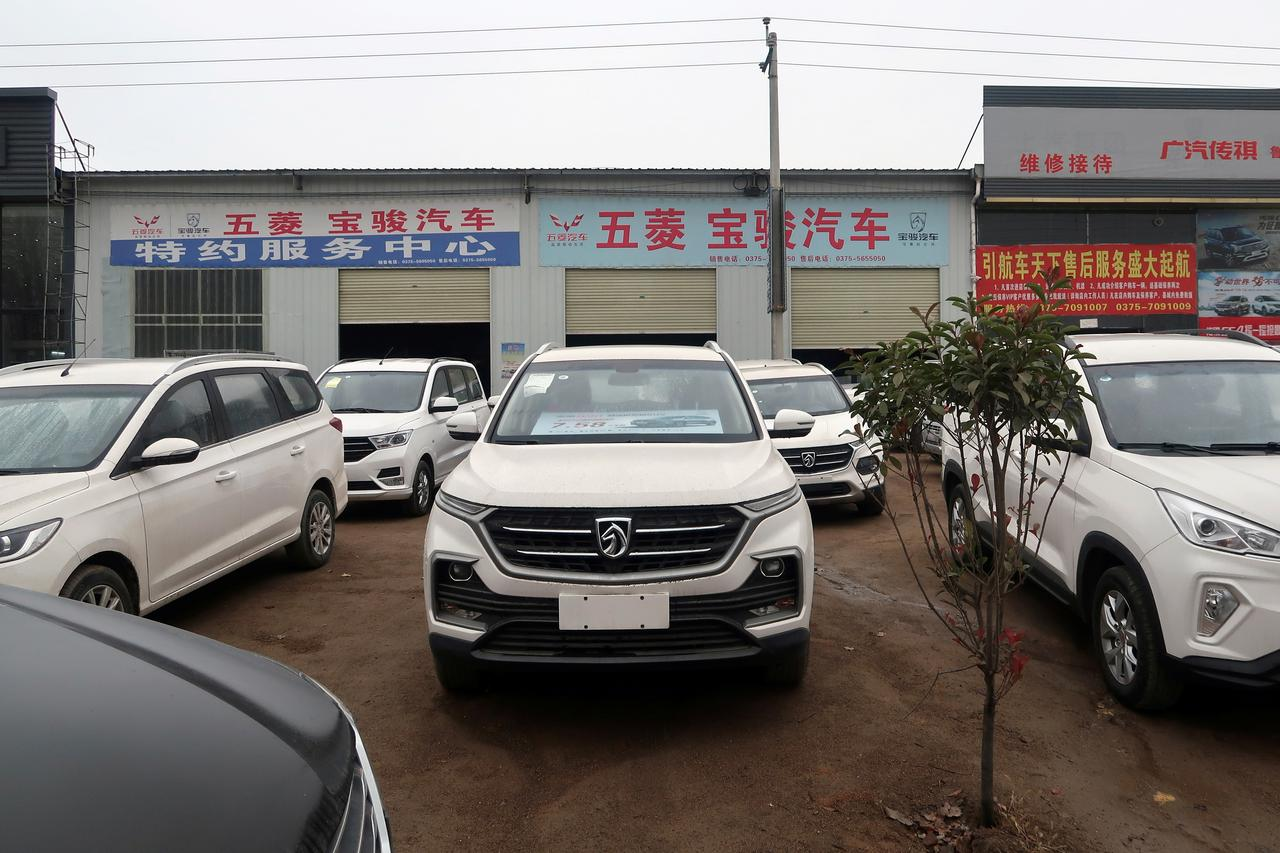 China auto sales fall 14 6% on year in April, 10th month of