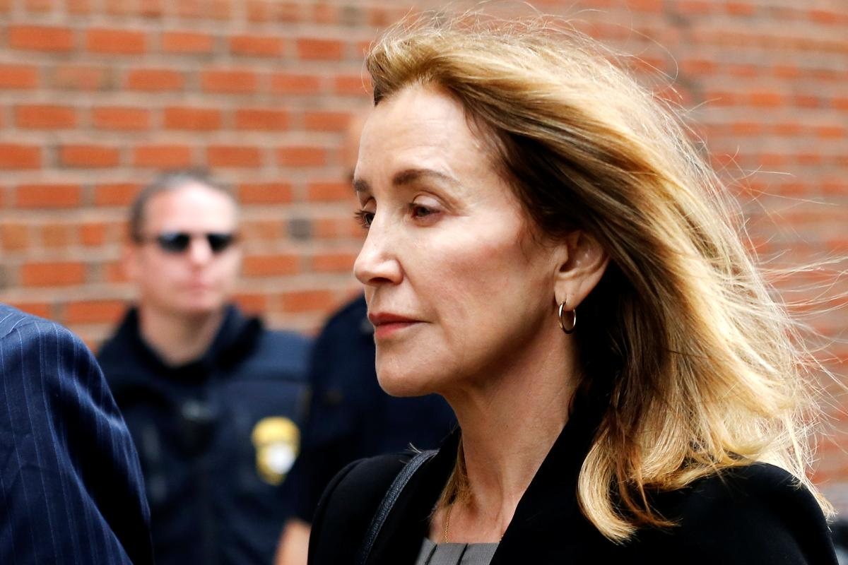 Actress Felicity Huffman pleads guilty in U.S. college admissions scandal