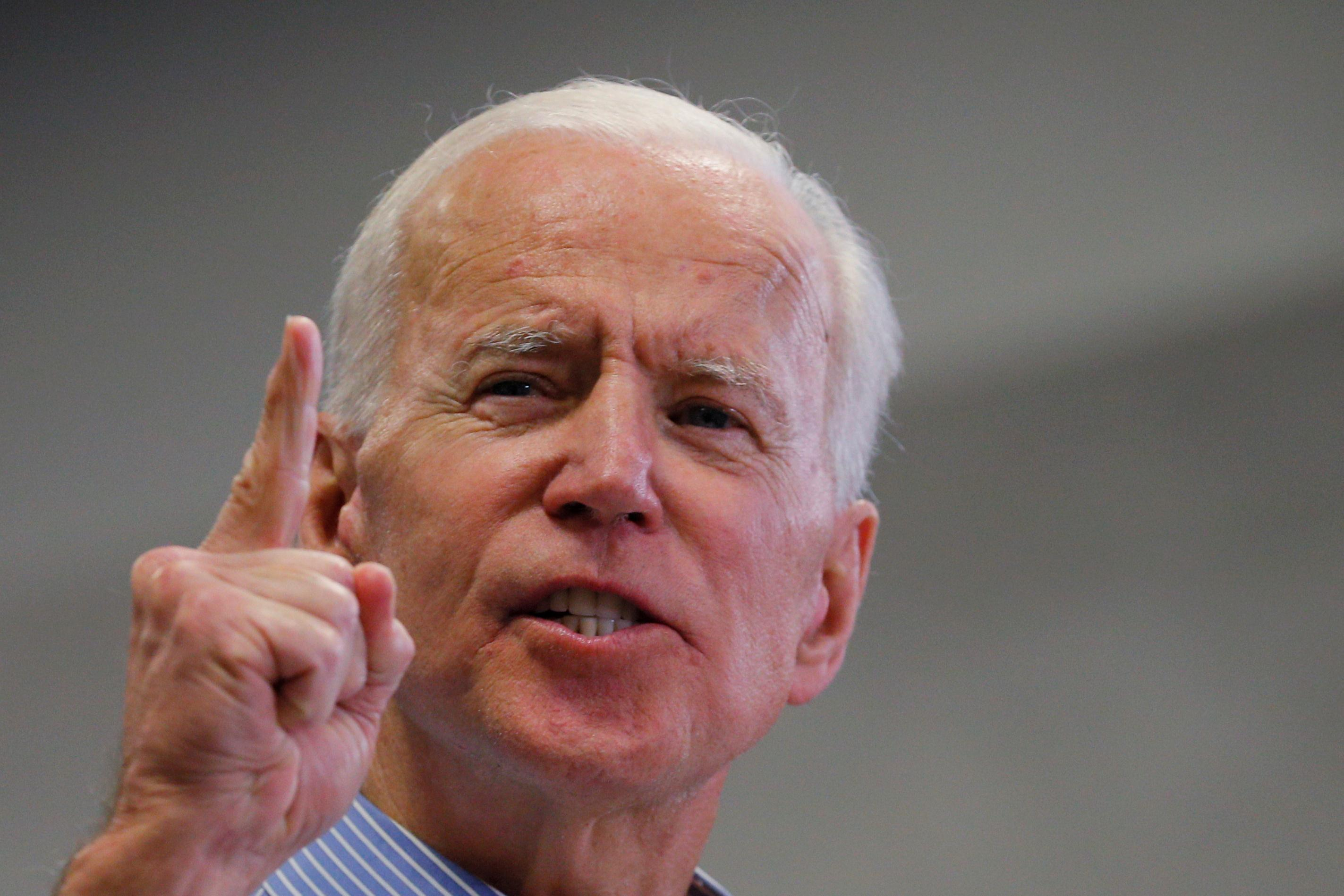 Biden expands lead over rivals for 2020 U.S. presidential nomination despite lack of support from millennials: Reuters/Ipsos poll