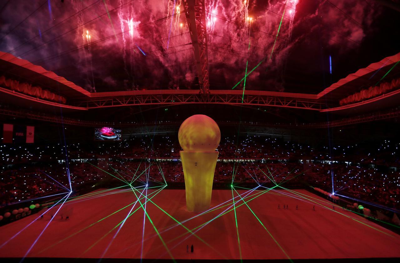 Bildergebnis für qatar inaugurate world cup 2022 stadium