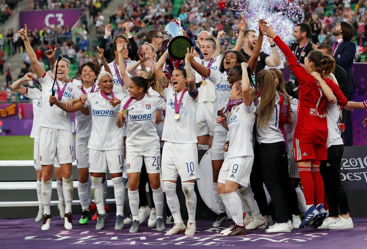 نتیجه تصویری برای lyon vs barcelona women champions league