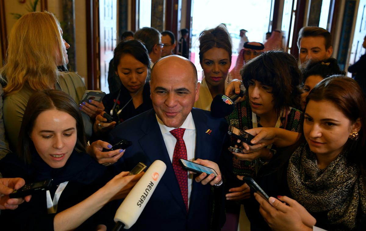 Venezuela oil minister says economy, oil industry under U.S. siege