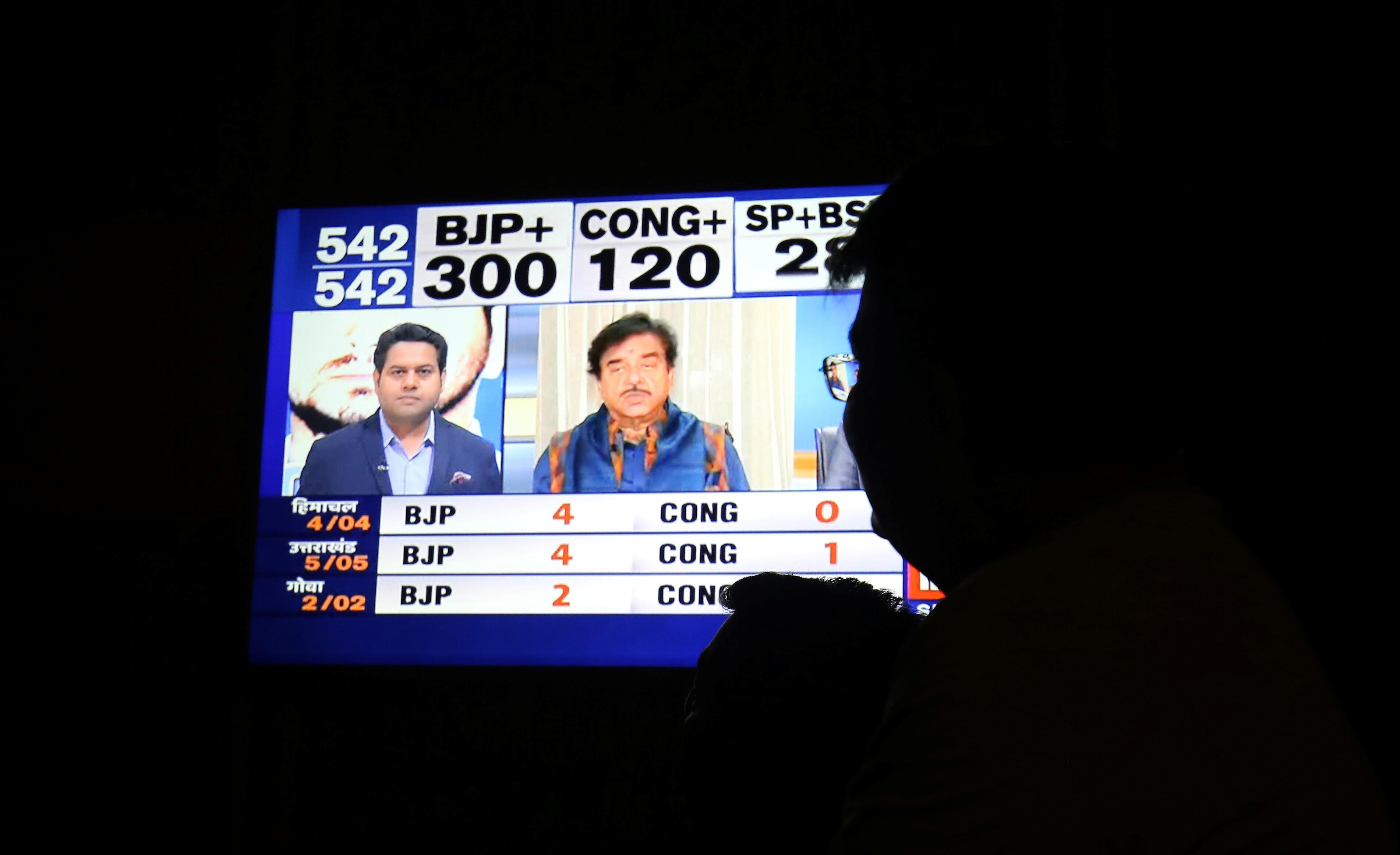 Modi set to return to power with a bigger majority, exit polls show