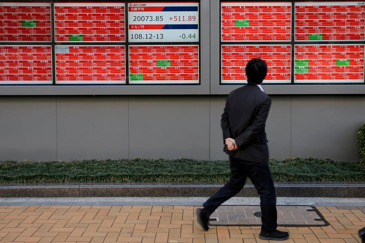 Image result for Australian, Indian elections boost Asian shares, trade fears ease
