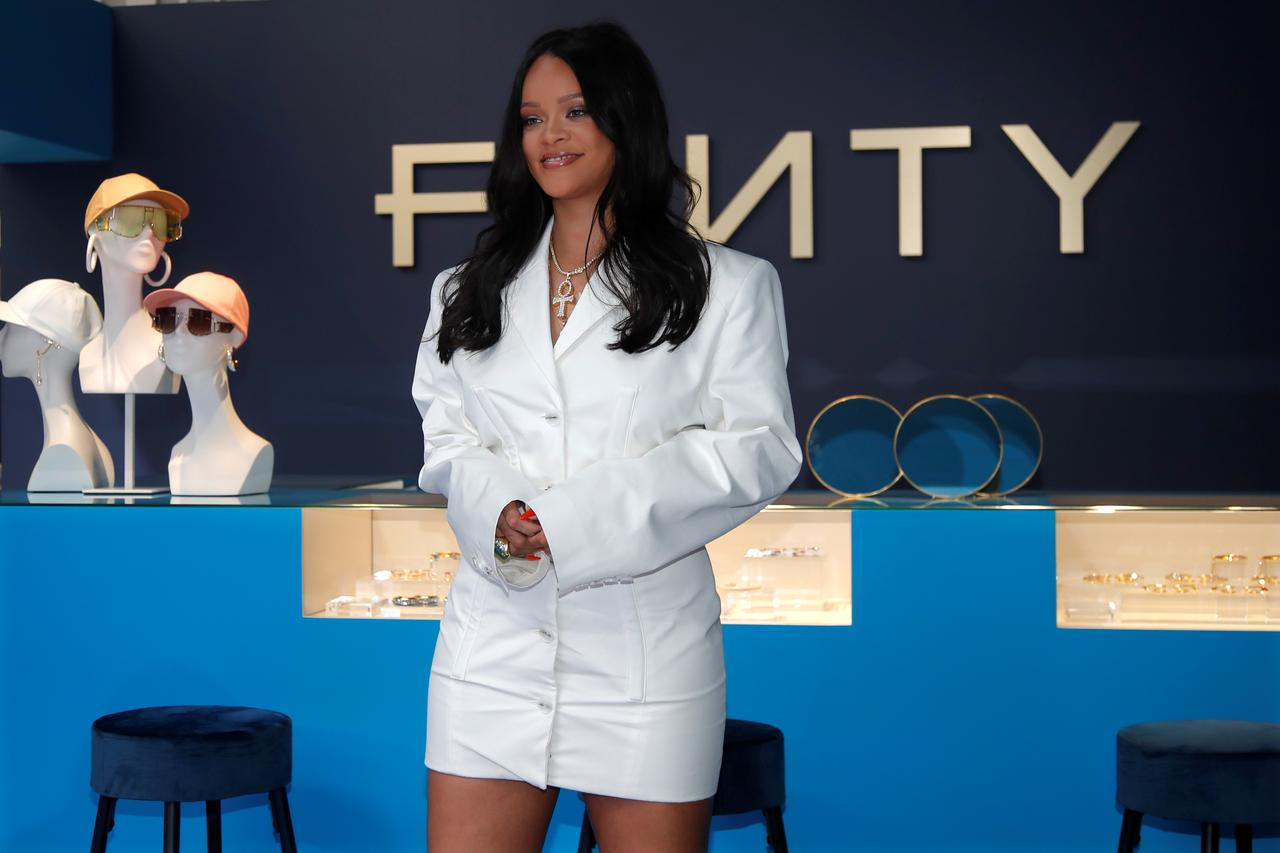 Image result for Rihanna launches new fashion brand in Paris with LVMH