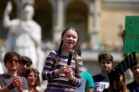 Teenage activists demand climate action on eve of global school strike