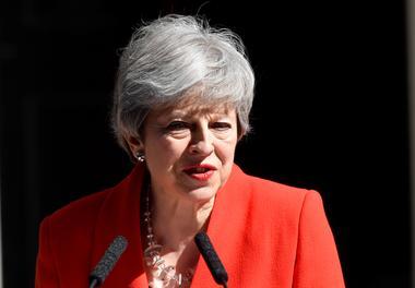 焦点:英国首相特雷莎·梅遗憾离场 约翰逊志在必得