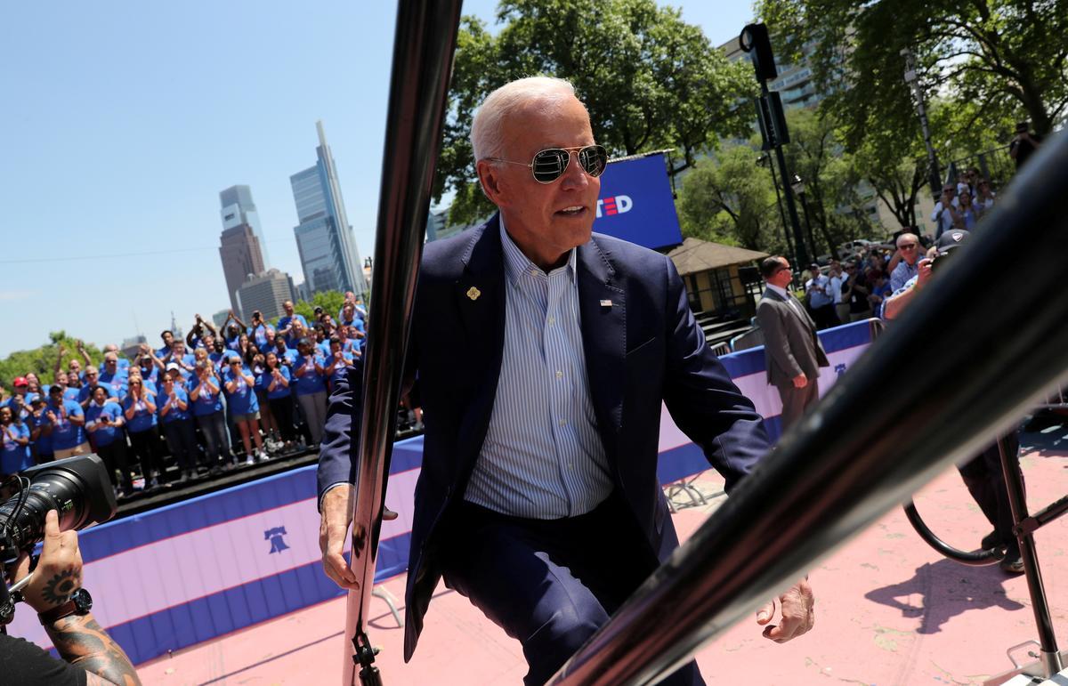 Biden education plan would boost U.S. teacher pay, ban assault weapons
