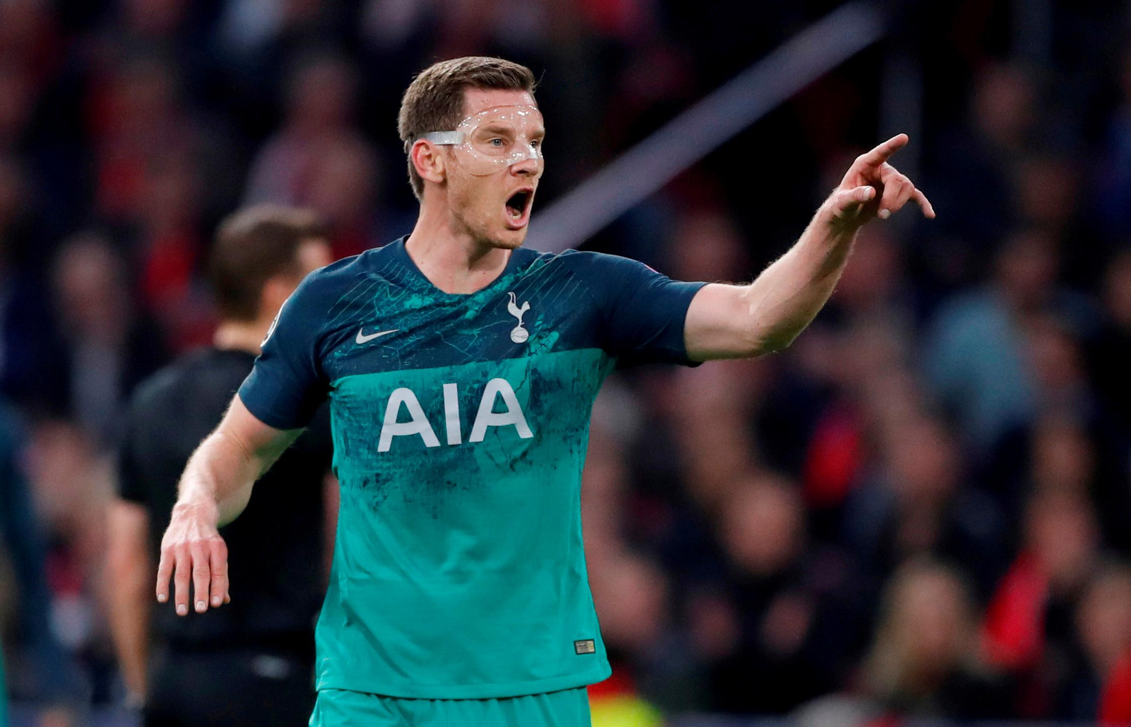 Vertonghen hopes for vindication of Pochettino's approach in final