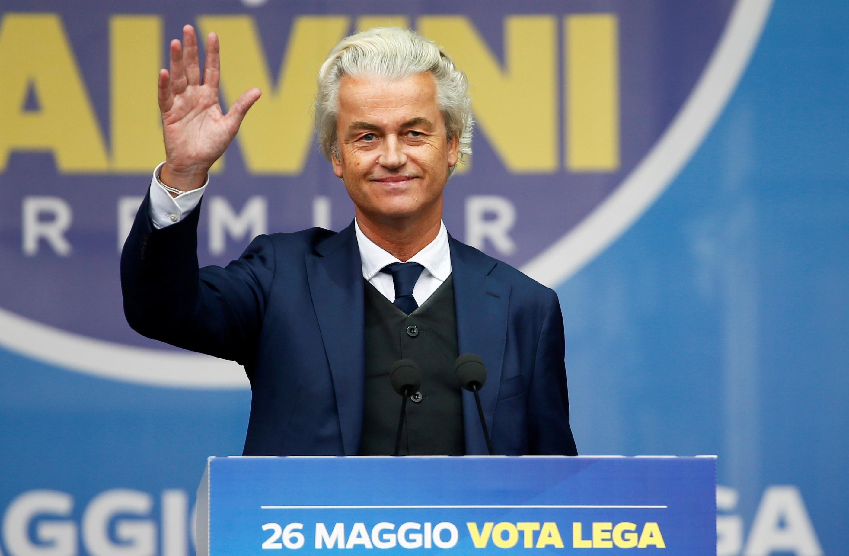 Dutch anti-Islam lawmaker Wilders says Twitter blocks his account
