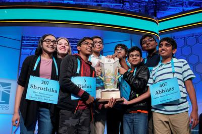 Word whizzes at the Scripps Spelling Bee