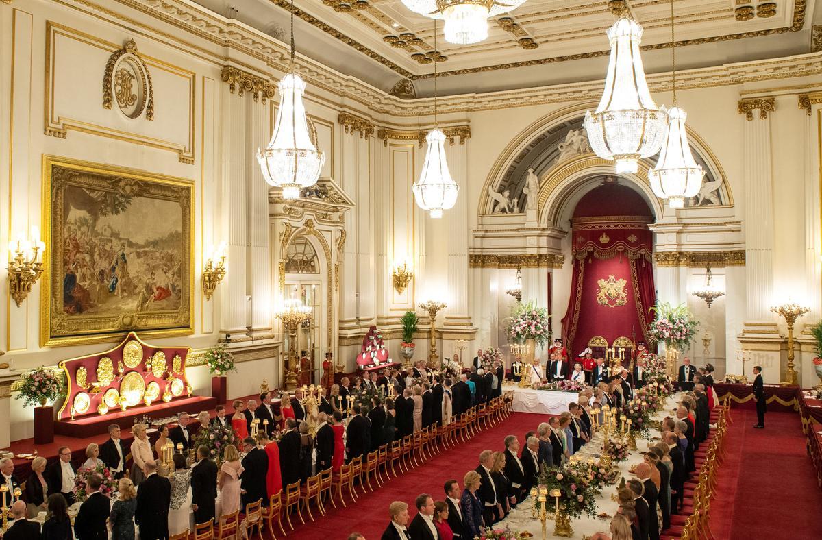 トランプ米大統領が英王室の晩餐会に出席、女王を称賛 - ロイター