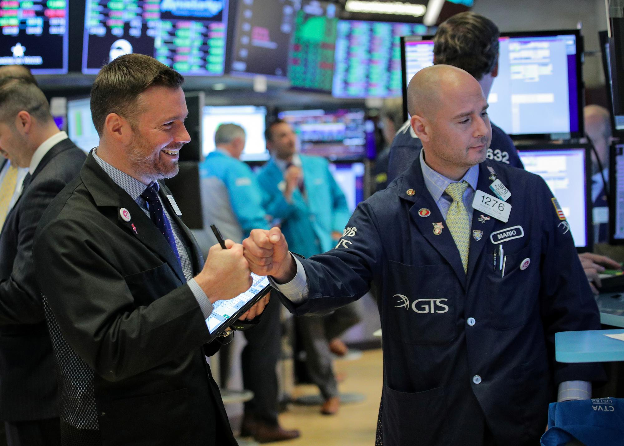 Wall Street opens higher for second day on rate cut hopes