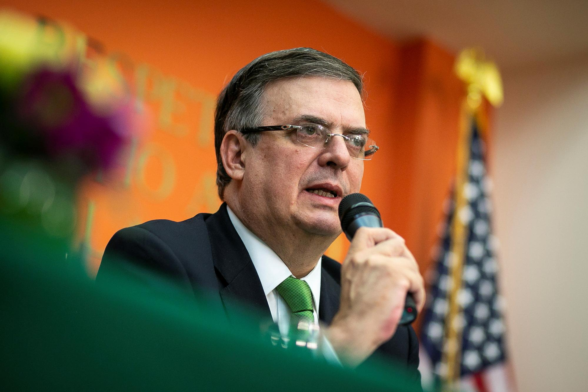 Mexico's Ebrard says talks with U.S. focused on migration flows, not tariffs