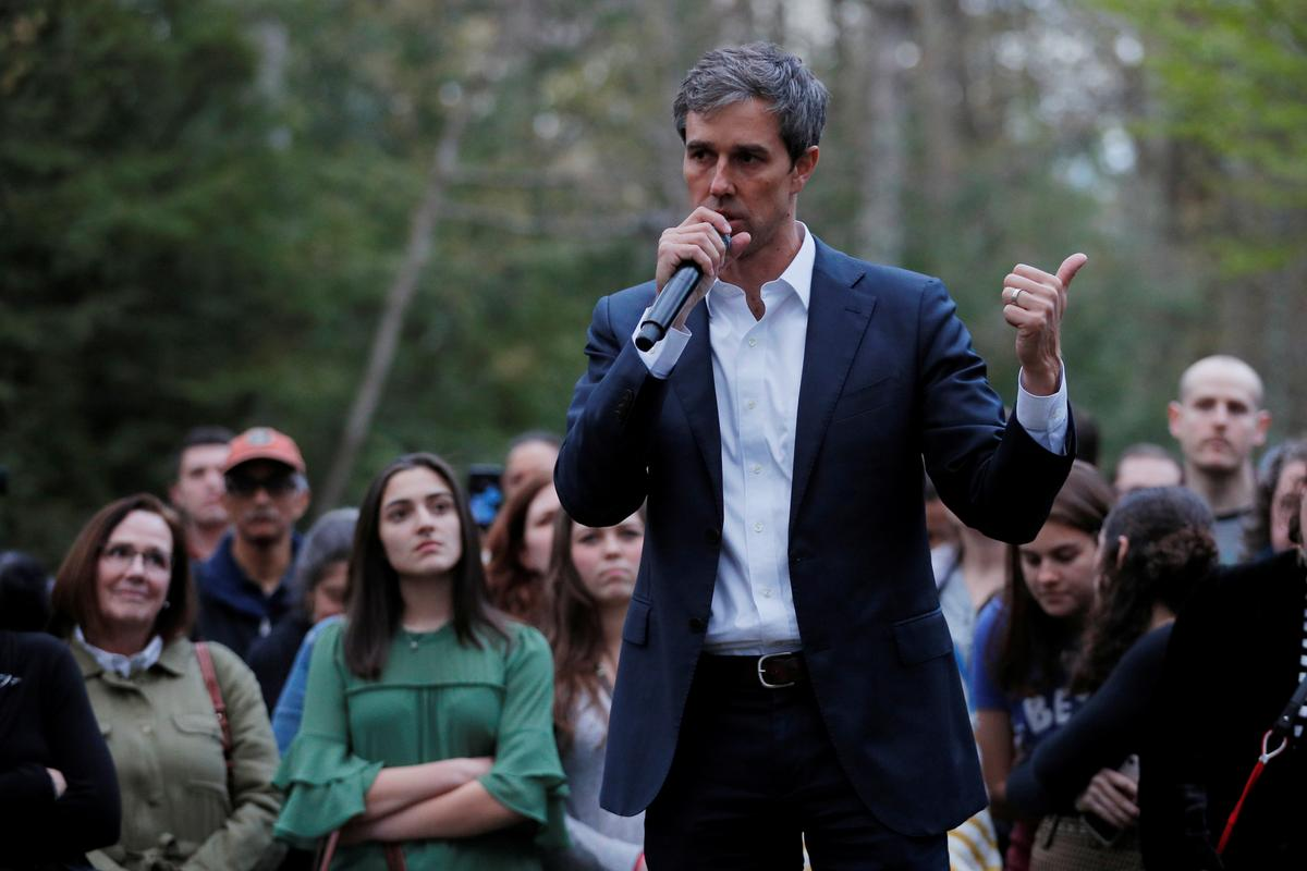 Beto O'Rourke, a Democratic darling in 2018, struggling on national stage