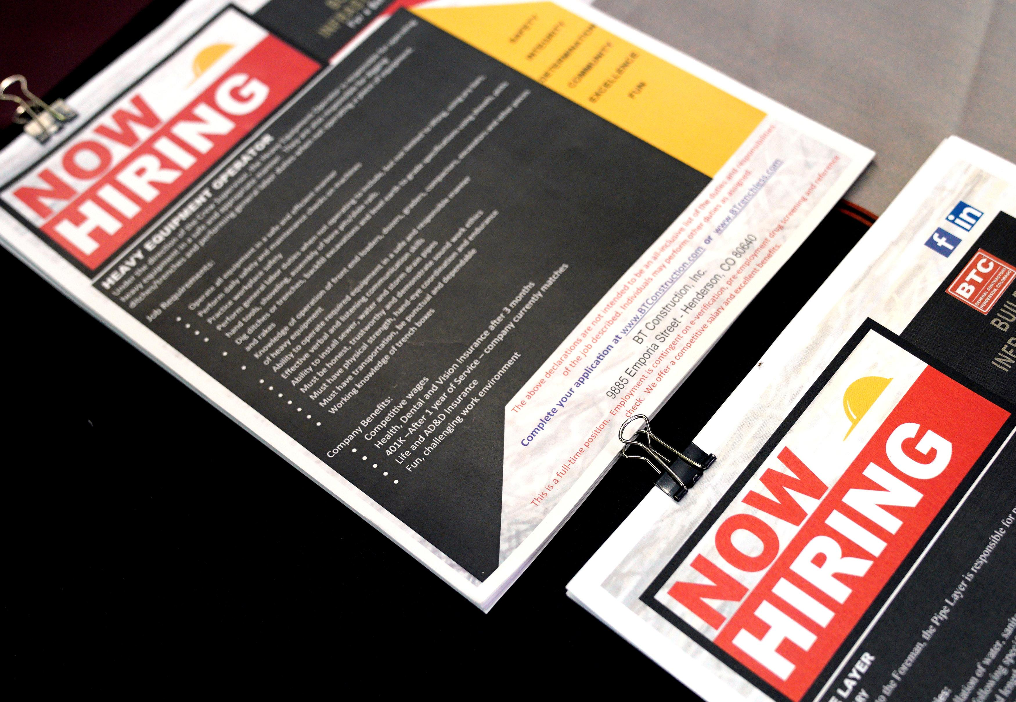 Weak U.S. employment report raises red flag on economy