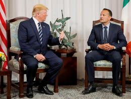 Trump visits Ireland