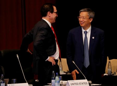 U.S. Treasury's Mnuchin says Trump-Xi meeting has parallels to Buenos Aires summit
