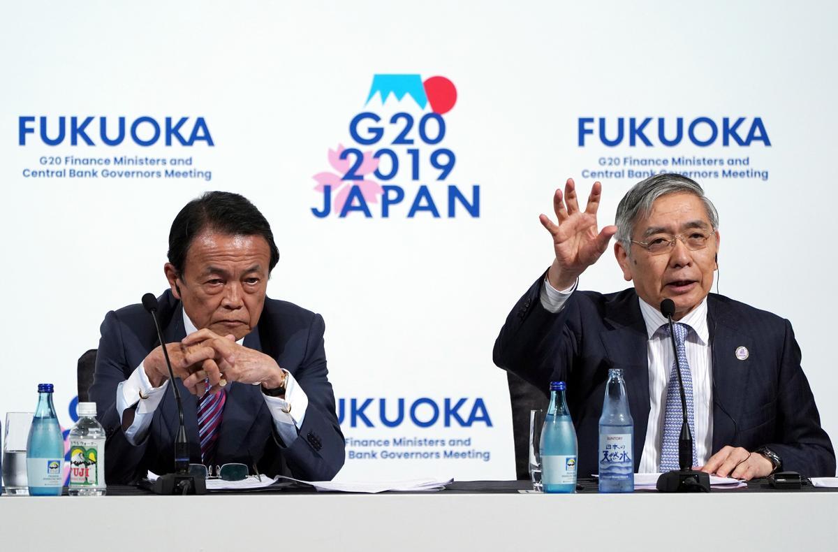 日本の消費増税に参加国から異論なし=G20で麻生財務相