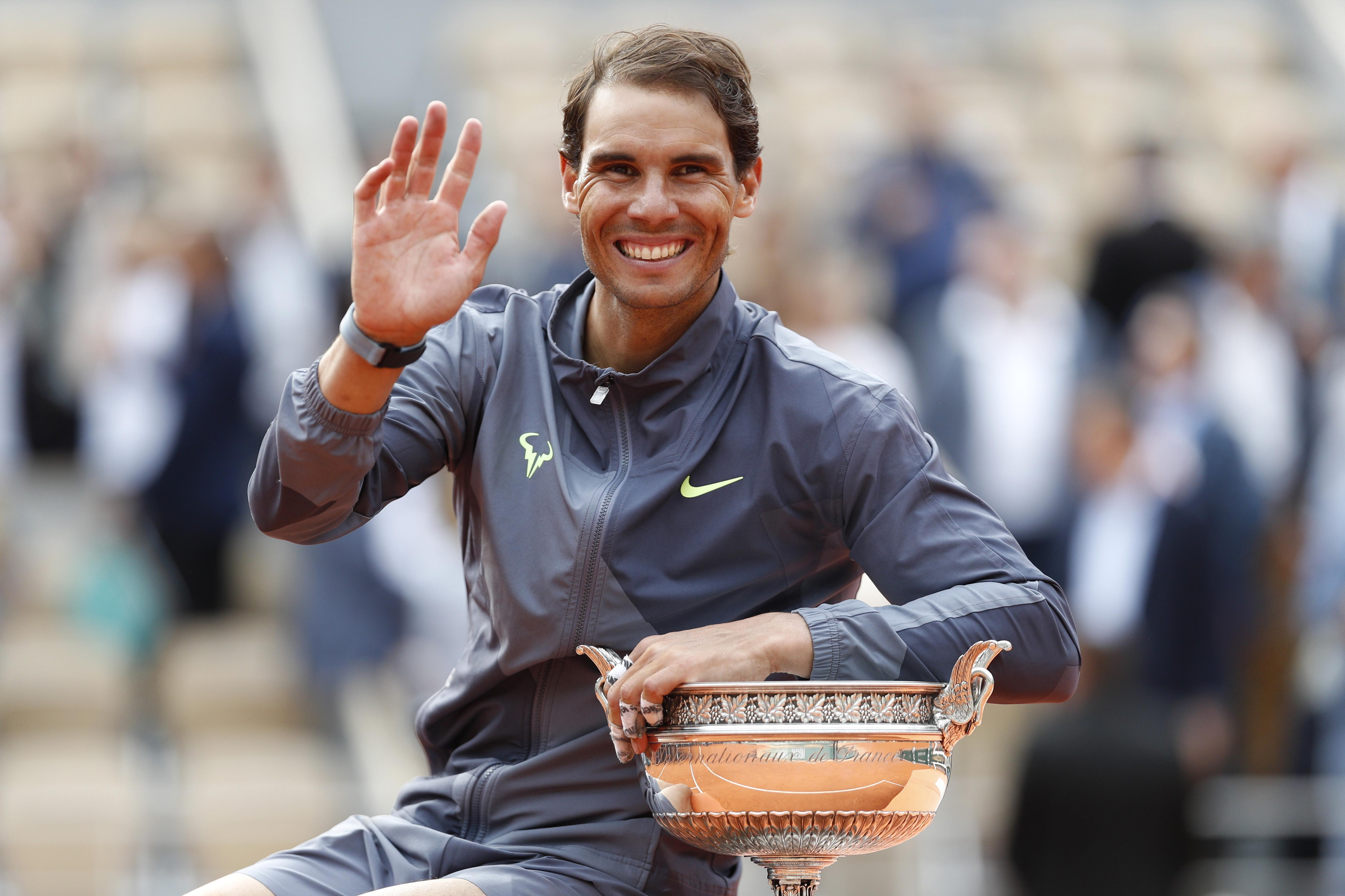 Factbox: Nadal's record-breaking 12 French Open final victories