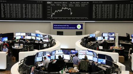 GLOBAL MARKETS-Demand worries hurt oil, stocks fall on trade uncertainty