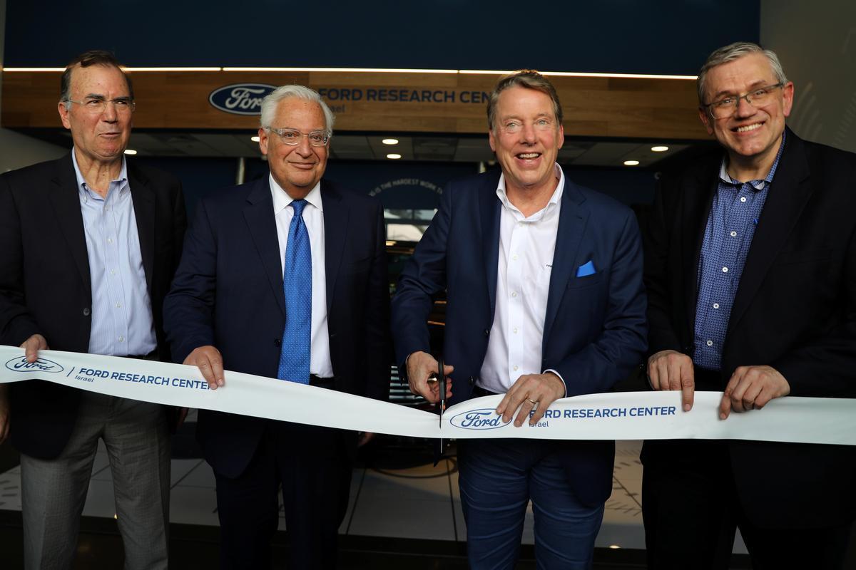 Ford Motor opens research center in Tel Aviv