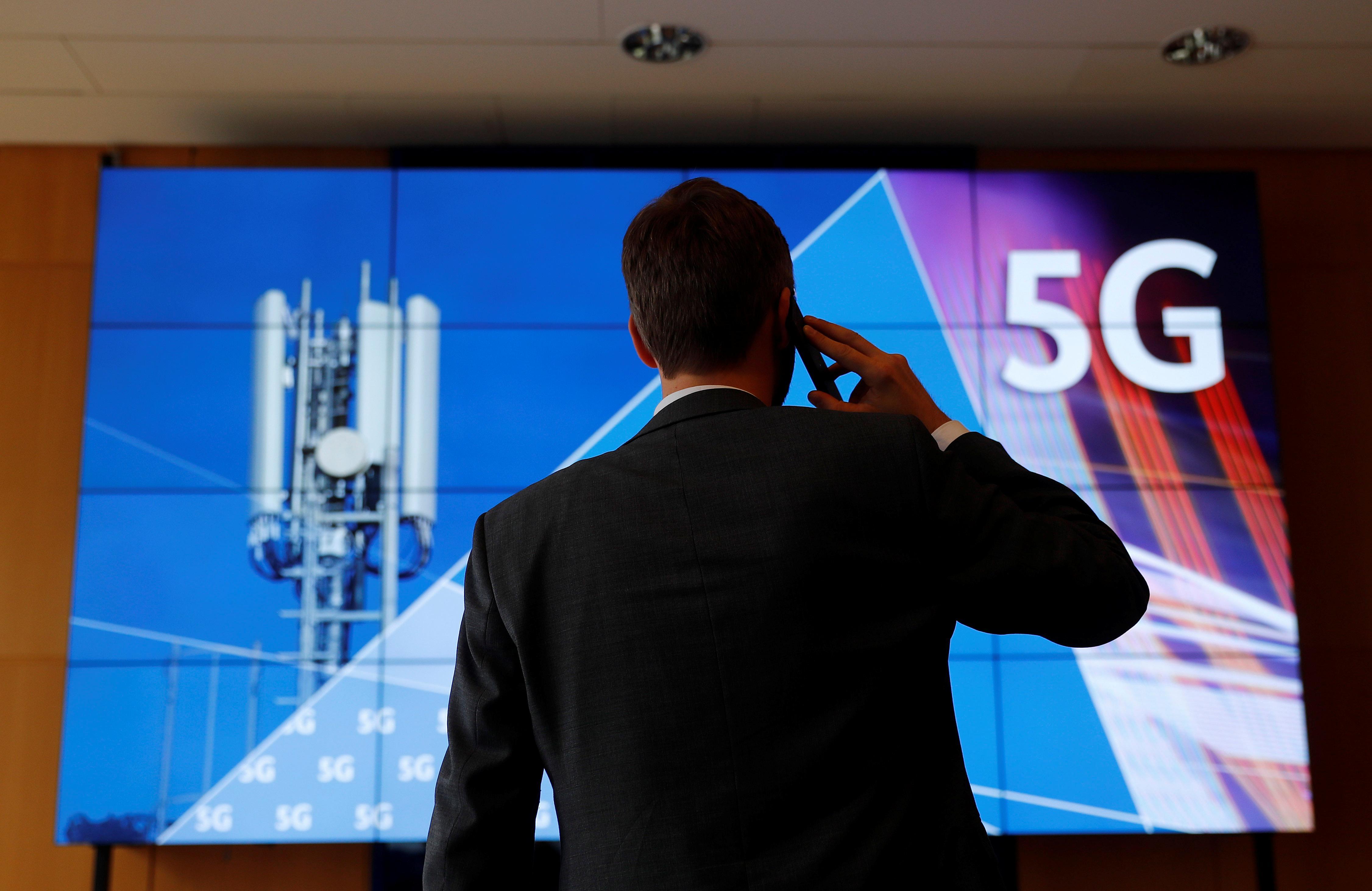 Germany raises 6.55 billion euros in epic 5G spectrum auction