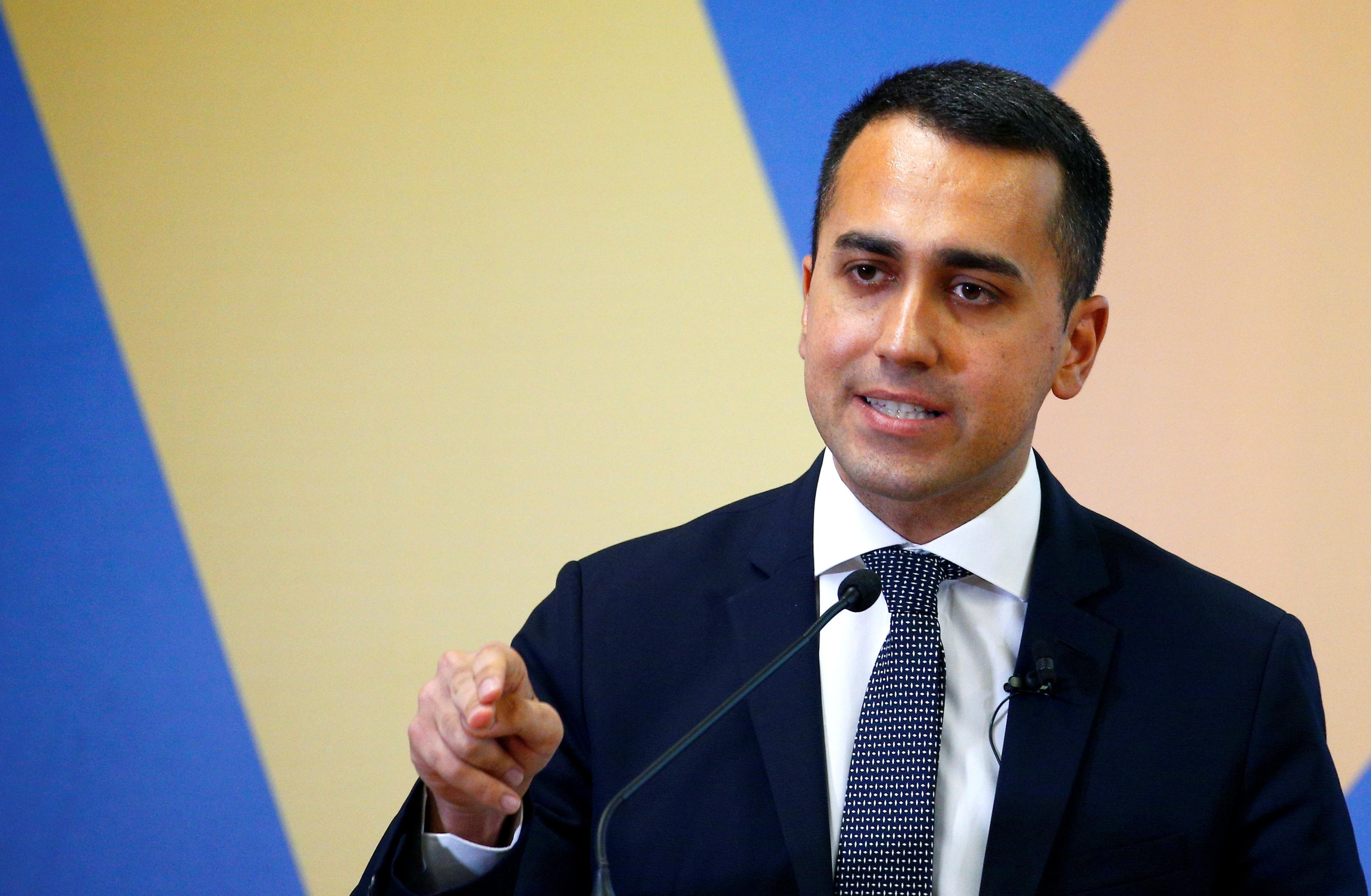 Italy will discuss later this year how to fund tax cuts: Di Maio